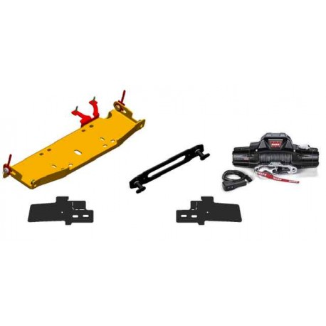 10A/X Rubicon Winch Mount & Warn Zeon 10s Winch (Hook Anchor Package)
