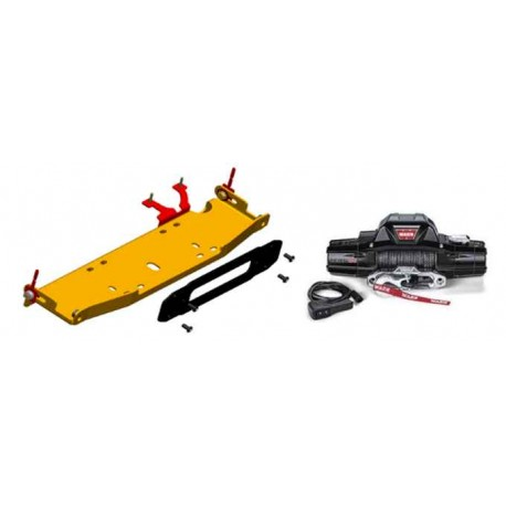 10A/X Rubicon Winch Mount & Warn Zeon 10s (Centering Plate Package)