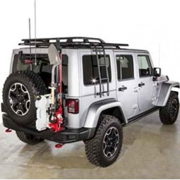 MAXIMUS-3 JK MODULAR TIRE CARRIER - SPORT PACKAGE