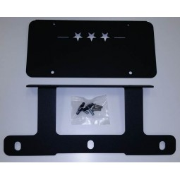 Low Mount License Plate Bracket