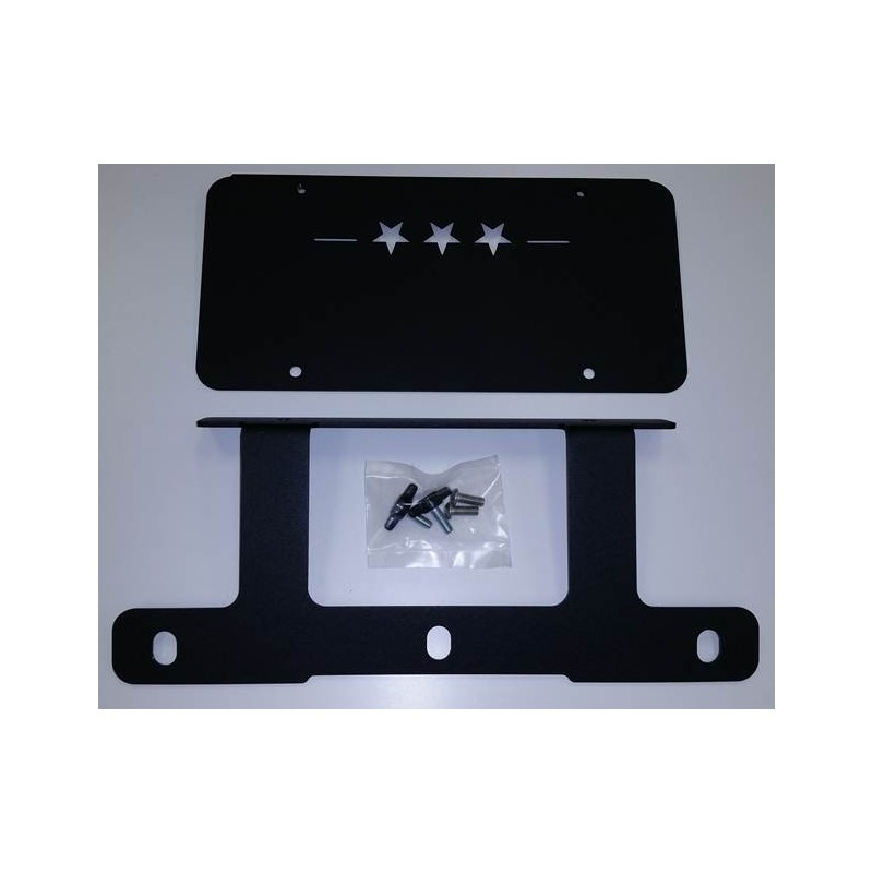 Ca License Plate Availability >> Low Mount License Plate Bracket | MAXIMUS-3