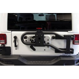 MAXIMUS-3 JK MODULAR TIRE CARRIER - BASE PACKAGE
