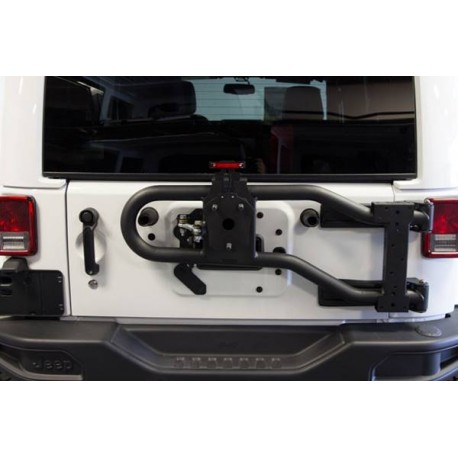 MAXIMUS-3 JK MODULAR TIRE CARRIER-BASE PACKAGE