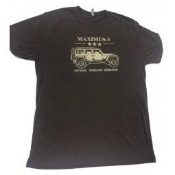 Tri-Blend Maximus-3 Wrangler T-Shirt, Macchiato