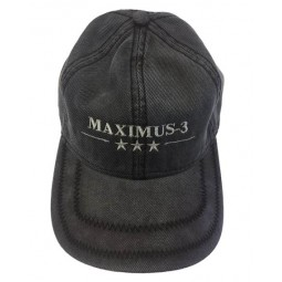Maximus-3 Logo Cap, Navy Blue