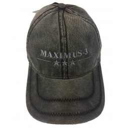 Maximus-3 Logo Cap, Gray