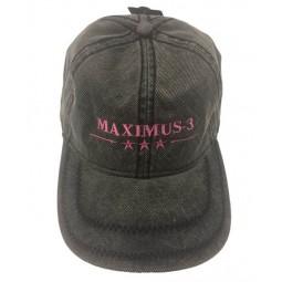 Maximus-3 Logo Cap, Gray Pink