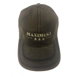 Maximus-3 Logo Cap, Dark Brown