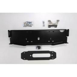 OFF-SET WINCH MOUNT SET-UP (OFF SET TRIM PLATE, VACUUM PUMP RELOCATION BRACKET )