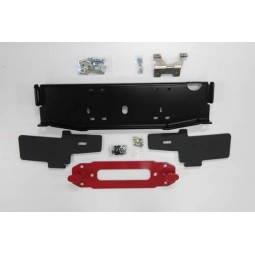 ZEON WINCH MOUNT SET-UP (CENTERED SETUP WITH HOOK ANCHOR & FILLER TRIM PLATES)