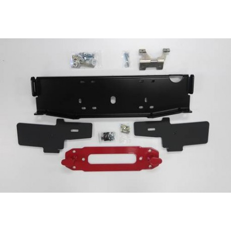 MAXIMUS-3 INBOARD WINCH MOUNT/PLATE CENTERED SET-UP WITH HOOK ANCHOR)