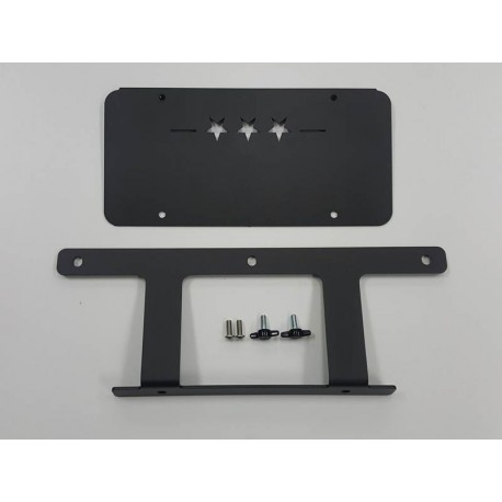 JL LOW MOUNT LICENSE PLATE BRACKET